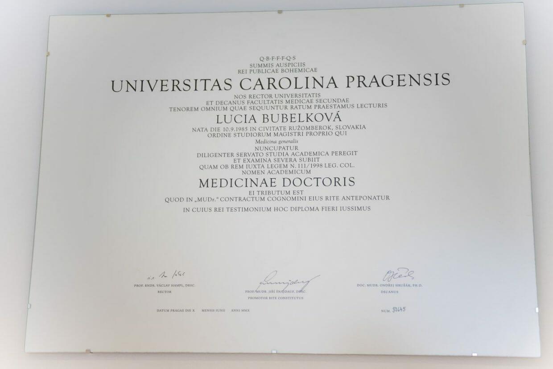 Dr. Kleinová - Univerzita Karlova v Prahe